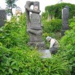 Jewish cemetery in Chernivtsi, 2006. Photo © Ruth Ellen Gruber