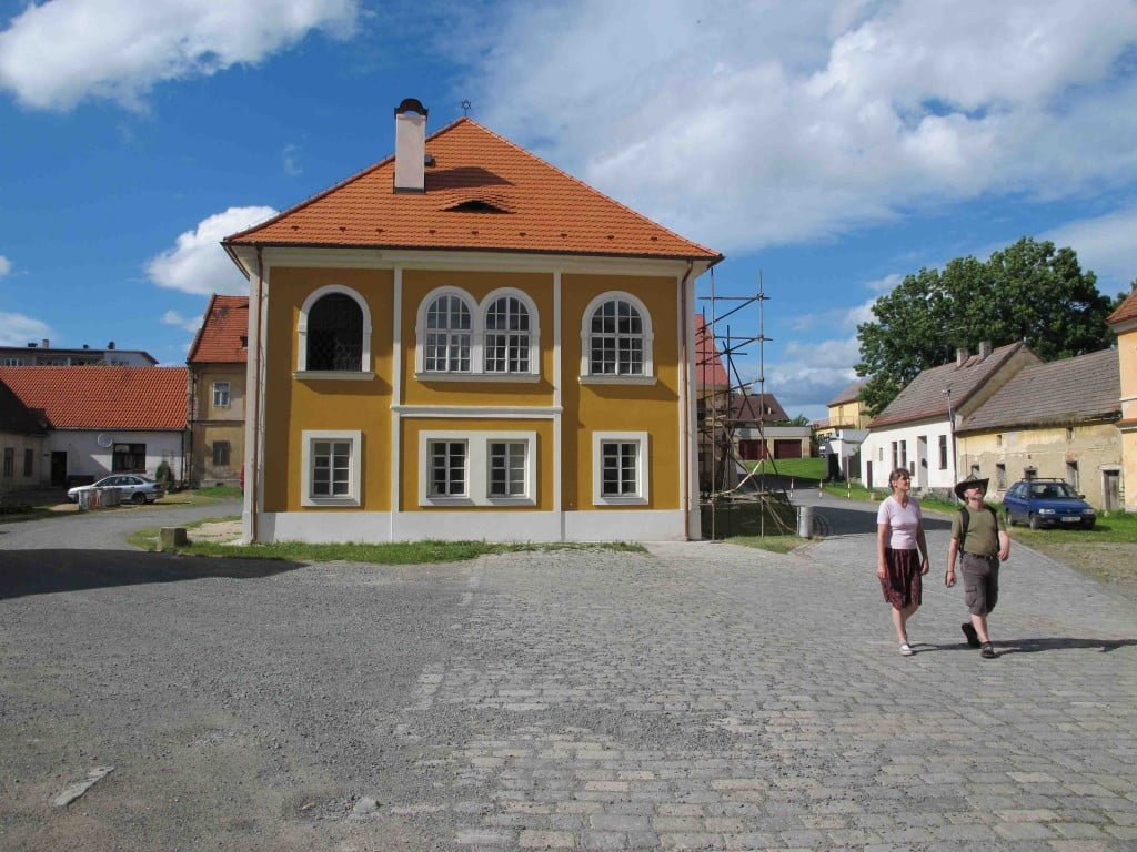 Exterior of the restored synagogue in Březnice, Czech Republic, one of the 10 Stars sites. Photo © Ruth Ellen Gruber