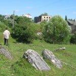 Jewish cemetery in Rozdil, Ukraine, south of L