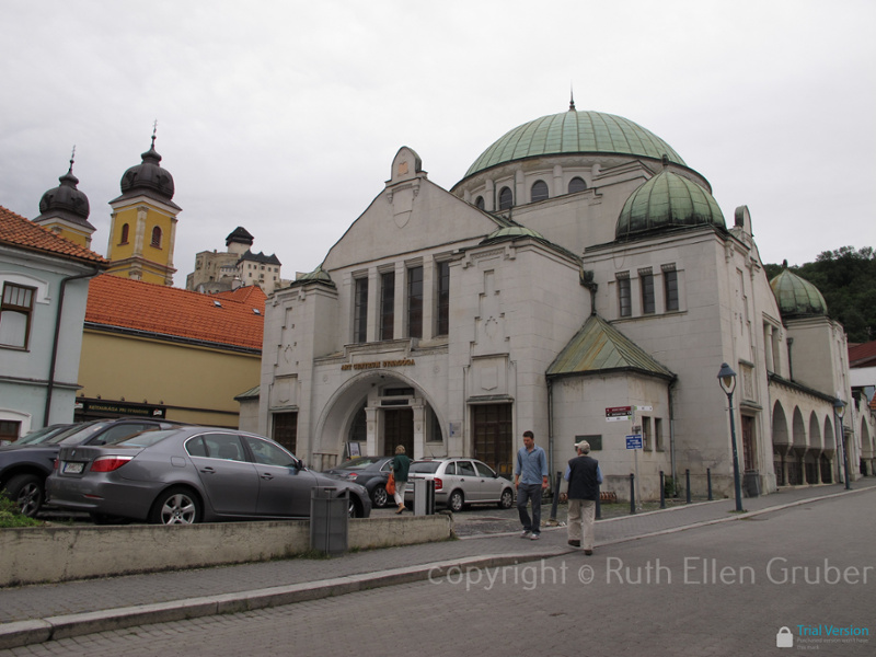 Synagogue in Trencin, Slovakia. Now used as an art gallery. Photo © Ruth Ellen Gruber