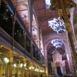 Interior, Dohany st. Synagogue, Budapest. Photo © Ruth Ellen Gruber