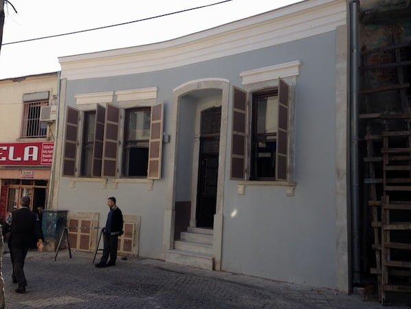 Izmir's Beit Hillel Synagogue facade after restoration