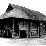 Połaniec wooden synagogue. Photo: Virtual Shtetl