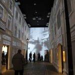 """The Street"" -- interwar period gallery in the POLIN museum. Photo © Ruth Ellen Gruber"