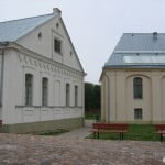 Kedaini, Lithuania -- restored synagogues, used as culture centers