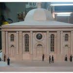 Model of the Great Synagogue in Płock, by Zdzisław Leszczyński