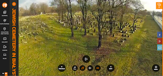 Screen shot from drone video