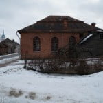Exterior of the Ludza Great Synagogue today. Photo © Yuri Dojc