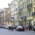 Downtown Lodz, Piotrkowska st.