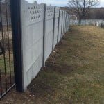 Recently completed ESJF fence at  Jewish cemetery in Bohuslav, Ukraine. Photo: ESJF