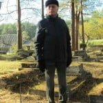 Dario Disegni, in Lithuania during the October 2015 conference on Jewish cemeteries.