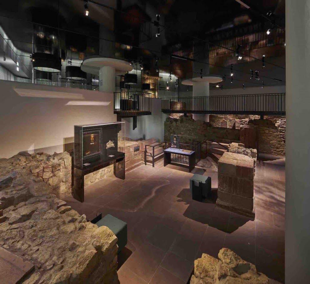 Part of the Judengasses Museum