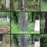 New Jewish Cemetery, Prague. Screen shot of photo gallery of restoration work, Jewish Community of Prague web site