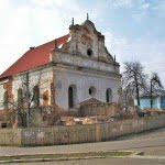 Slonim synagogue, 2006. Photo: Unomano, via wikimedia