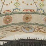 Fresco in the Remuh synagogue, Krakow, recently revealed during renovation