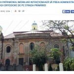 Oradea orthodox Hinech Neoral synagogue, screen grab from City Hall web site