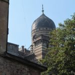 Dome of the Jewish hospital in L