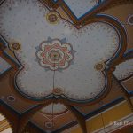 Ceiling of the synagogue in Sighet, Romania