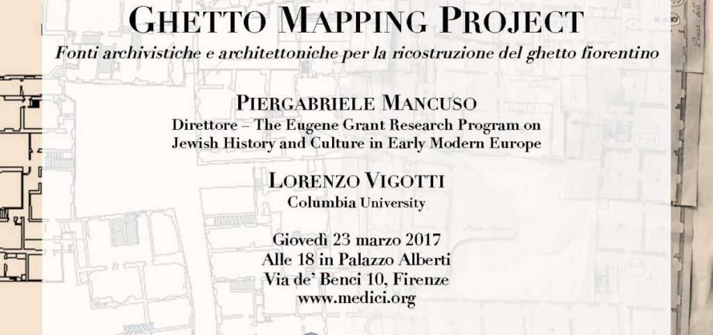 Mapping Florence Ghetto presentation @ Palazzo Alberti | Firenze | Toscana | Italy